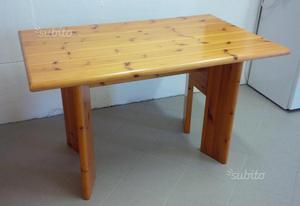 Tavolo legno massiccio in abete rosso