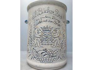 Vecchio Contenitore per pane tedesco - Vaso ceramica