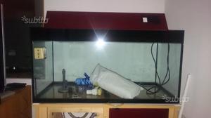 Acquario vitrea  litri con mobile