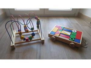 Carrello e tracciato palline Ikea