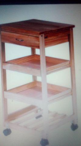 Carrello in legno