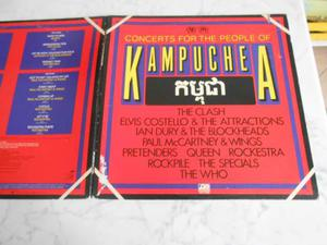 Concert for the people of kampuchea 2 lp vinile live
