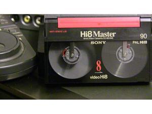 Conversione cassette video 8mm