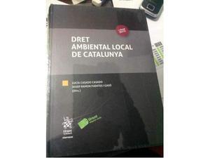 Dret ambiental local de Catalunya  nuovo