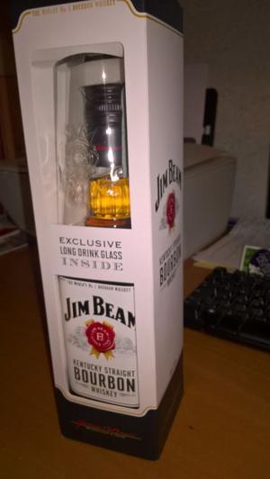 Jim beam bourbon whiskey bottiglia regalo
