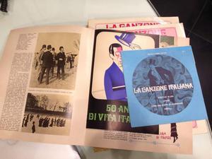 La canzone Italiana 1/15 fascicoli + 45 giri