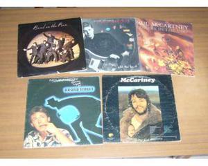 """Paul mc cartney - lotto stock 5 lp 33"""" originali d'epoca"""