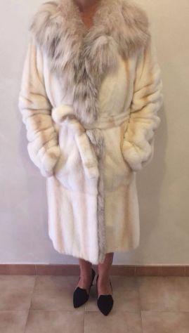 Giacca in pelliccia di visone color miele  bb7a54f80db