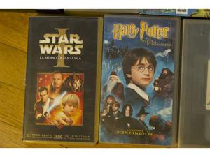 Vhs di harry potter e star wars