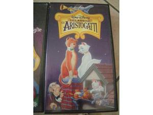 """Vhs originale Disney """"gli Aristogatti"""""""