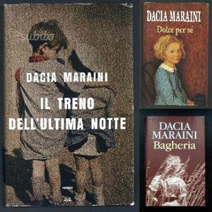 3 Libri di Dacia Maraini