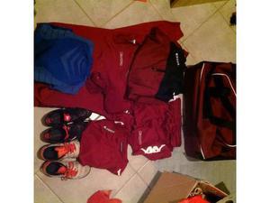 Borsone calcio bambino con abbigliamento e scarpe n. 32