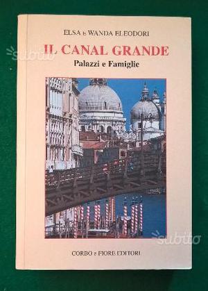 Il canal grande - palazzi e famiglie