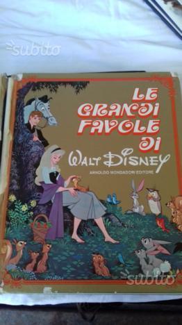 Le grandi favole di Walt Disney