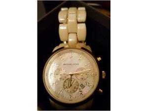 Orologio originale MICHAEL KORS con cronografo e strass