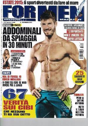 Stock riviste for men