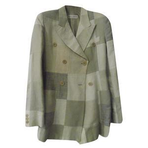 completo giacca pantalone lino dolce e gabbana taglia44