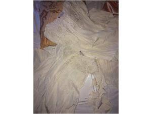 Camicia da notte e vestaglia ricamo seta