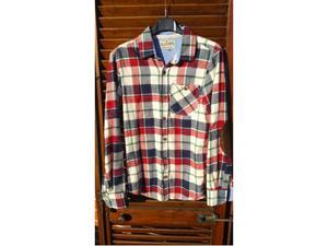 Camicia nuova uomo Alcott Tg. M 100% cotone