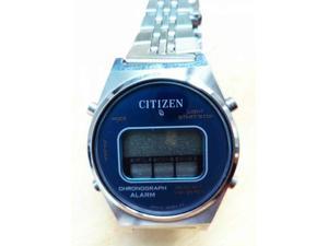 Cronografo Citizen a quarzo LCD