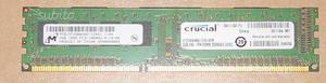Memoria RAM Crucial 2GB DDRMhz PCU