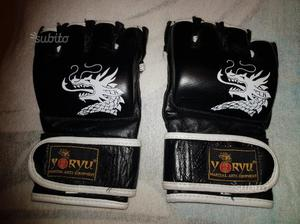 Nuovi Guanti MMA in Pelle Nera tg.L/XL