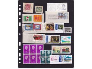 n 25 francobolli Olanda sottodescritti