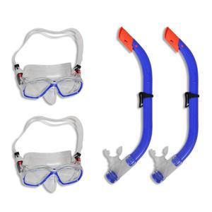 vidaXL Set immersioni Maschera per bambini 2 set