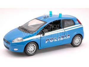 New Ray NY FIAT GRANDE PUNTO POLIZIA 1:24 Modellino