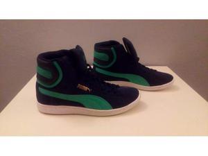 Sneakers alte Puma nuove mai usate n.39