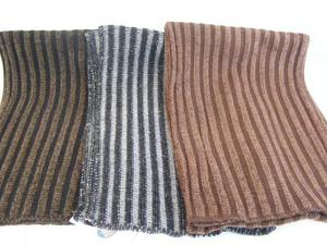 Stock 3 sciarpe uomo donna lavorazione particolare
