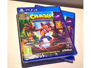 Crash bandicoot ps4 nuovo imballato vendo o scambio