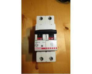 Interruttore magnetotermico Bticino 10A e Siemens G16A