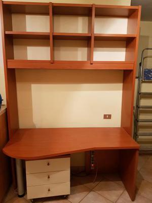 Mobile libreria e scrivania posot class - Mobile con scrivania ...