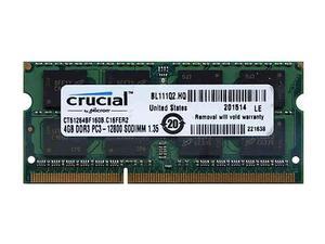 Memoria RAM Crucial SODIMM 4GB DDR PC