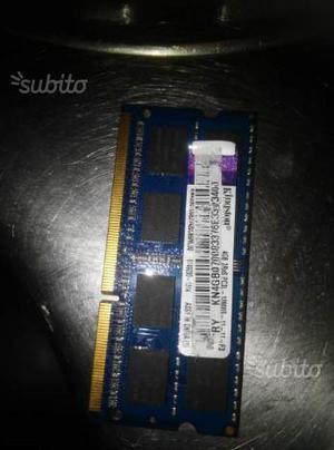 Memoria RAM KINGSTON 4 GB 2Rx8 DDR3