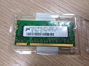 Memoria RAM SODIMM DDRGB