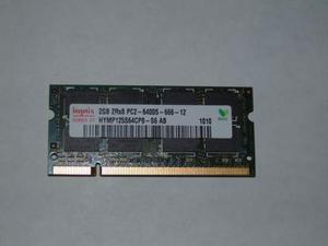 Memoria ram 2gb ddr2 so dimm usato