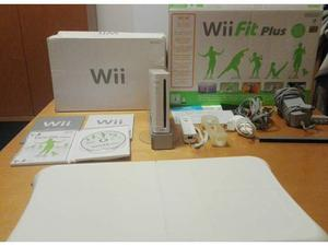 Nintendo Wii console+ Wii Balance Board+ Wii Fit Plus