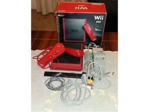 Nintendo Wii mini rossa + 5 giochi