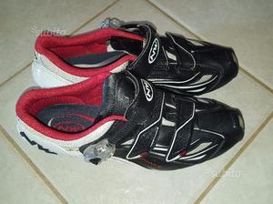 Scarpe per bici da corsa Northwave +pedali Mavic