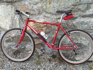 Vendo Bicicletta Mountain Bike Bottecchia Rossa Uomo
