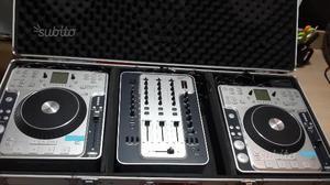 Consolle stanton completa di 2 cdj  mix304