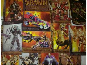 Spawn Toy files set completo 90 cards + Spawn chromium