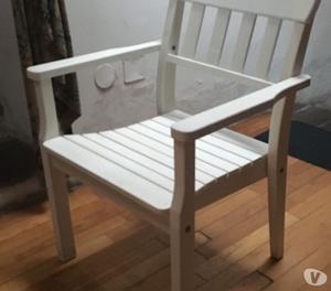 N 4 sedie bianche ikea per soggiorno cucina posot class - Sedie ikea giardino ...