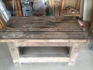 Antico tavolo da segheria / falegname