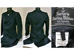 hot sale online 671b5 e3f88 Cappotto marina militare marzotto in panno   Posot Class