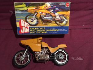 Moto Big Jim - giocattolo vintage