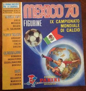 Panini Mexico 70 Vuoto con le 2 BUSTINE PIENE