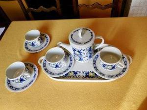 Servizio da the vintage porcellana Villeroy & Boch con